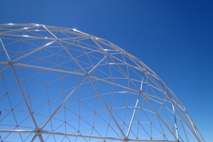 Seattle geodesic domes